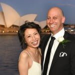 Rebecca and Shaun's wedding Party at Quay Restaurant Circular Quay