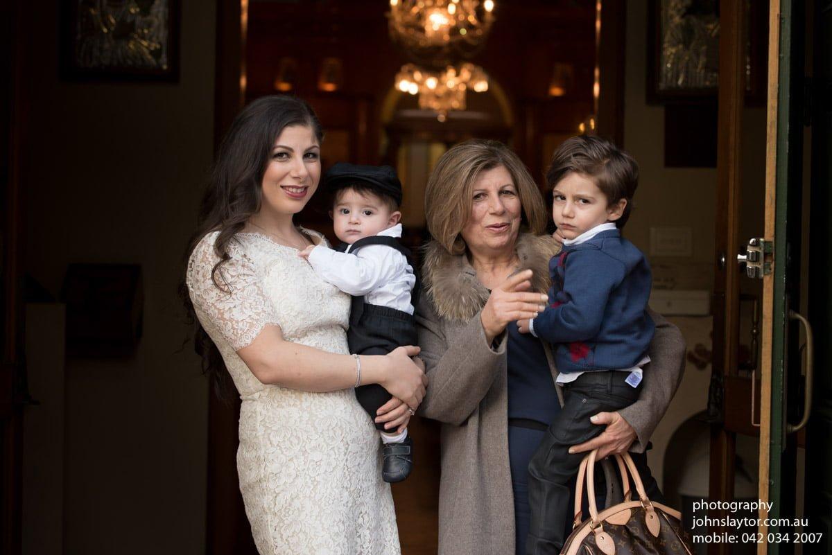 Lebanese christening