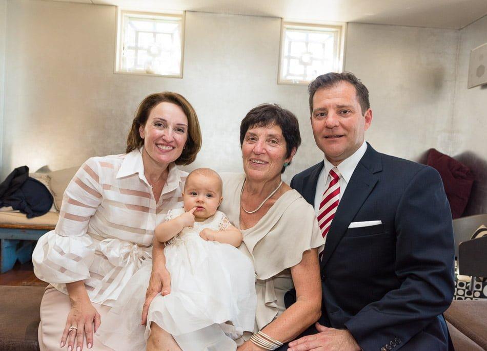 Three generations at Balmoral Bathers Pavilion