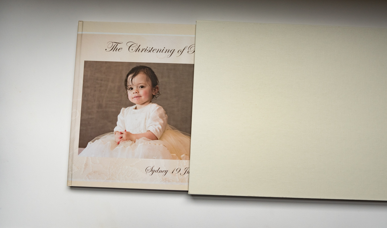 christening book